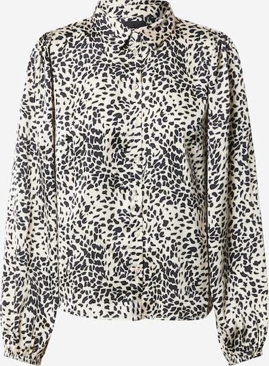 PIECES Blouse 'Danni' in de kleur Zwart / Wit, Productweergave
