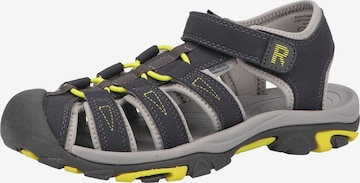RICHTER Sandale in Grau
