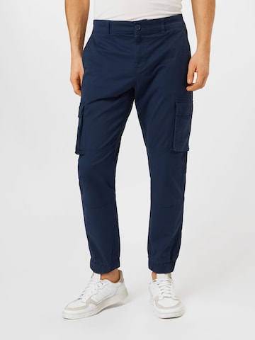 Only & Sons Cargo Pants 'CAM' in Blue