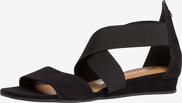 TAMARIS Sandals in Black