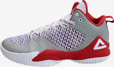 PEAK Basketballschuh 'Lou Williams' in hellgrau / rot, Produktansicht