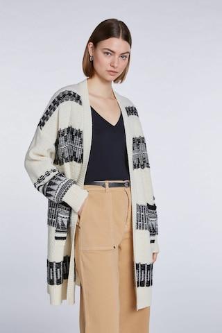 SET Knit Cardigan in White