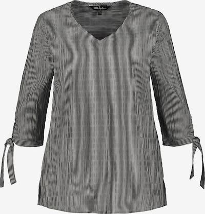 Ulla Popken Tunika | črna / bela barva, Prikaz izdelka