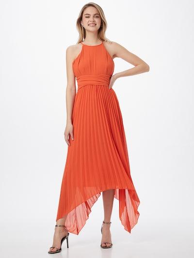 TFNC Abendkleid 'Morley' in koralle, Modelansicht