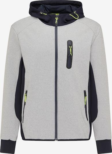 Mo SPORTS Between-season jacket in Night blue / Light grey / Neon green, Item view