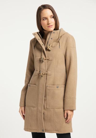 Palton de primăvară-toamnă DreiMaster Klassik pe maro deschis, Vizualizare model