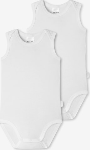 Barboteuse / body SCHIESSER en blanc