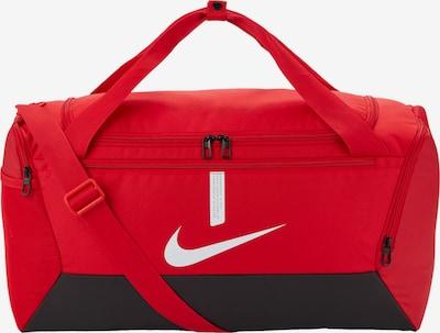 NIKE Sporttasche in rot / schwarz / weiß, Produktansicht