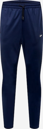 Reebok Sport Sporthose in marine / weiß, Produktansicht