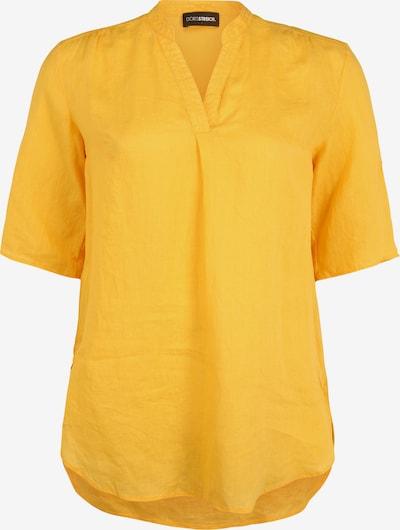 Doris Streich Longbluse mit V-Ausschnitt in gelb, Produktansicht