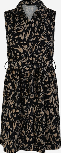 Vero Moda Petite Kleid 'HAILEY' in kobaltblau / hellbraun, Produktansicht
