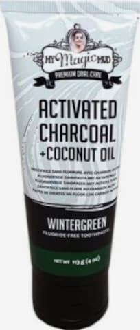 My Magic Mud Dental Hygiene 'Activated Charcoal Fluoride-Free Wintergreen' in