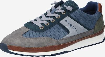 bugatti Sneaker 'Riptide' in dunkelblau / braun / dunkelgrau, Produktansicht