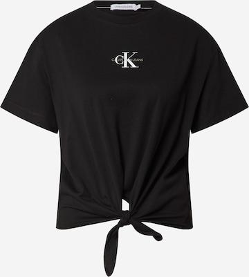 Calvin Klein Jeans T-Shirt in Schwarz