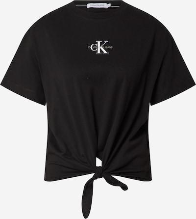 Calvin Klein Jeans Shirt in Black / White, Item view