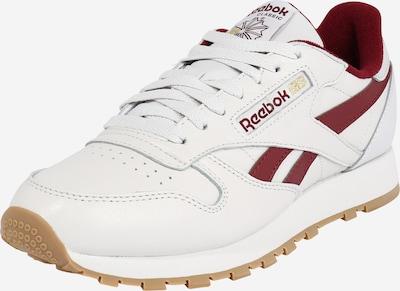 Reebok Classic Sneaker in weinrot / weiß, Produktansicht