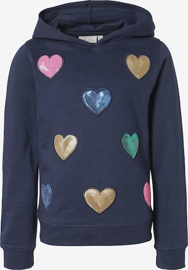 myToys-COLLECTION Sweatshirt in navy / gelb / grün / pink, Produktansicht