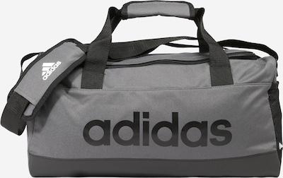 ADIDAS PERFORMANCE Bolsa de deporte en gris / negro, Vista del producto