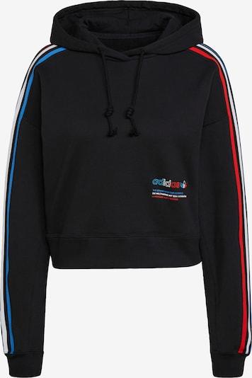 ADIDAS ORIGINALS Sweatshirt in himmelblau / feuerrot / schwarz / weiß, Produktansicht