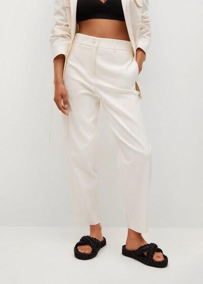 MANGO Hose 'Blanca in beige, Modelansicht