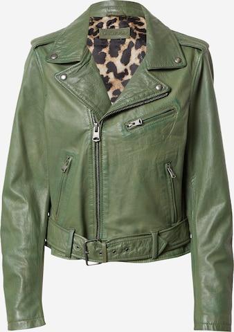 OAKWOOD Between-season jacket 'Radio' in Green