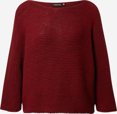 Sublevel Пуловер в тъмночервено, Преглед на продукта