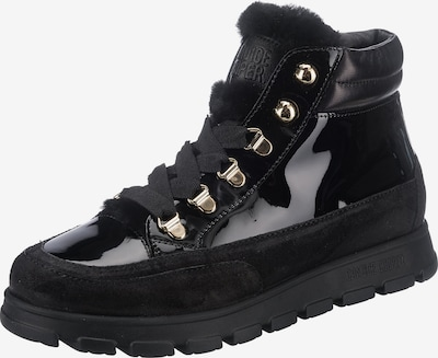 Candice Cooper Lace-Up Ankle Boots ' Ninja Mountain' in Gold / Black, Item view