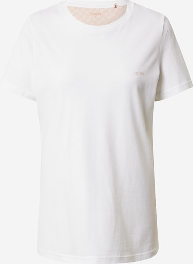 JOOP! Bodywear Slaapshirt in de kleur Koraal / Wit, Productweergave