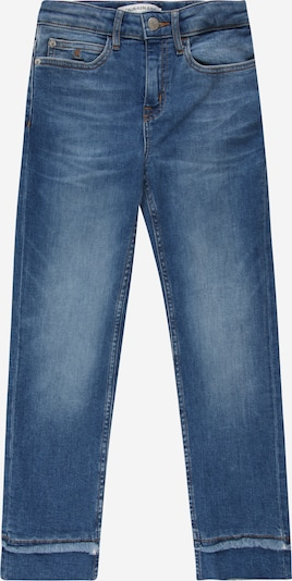 Calvin Klein Jeans Traperice u plavi traper / crna / bijela, Pregled proizvoda