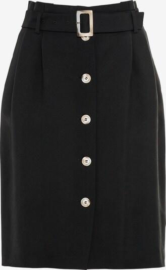 HALLHUBER Paperbag-Rock in schwarz, Produktansicht