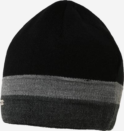 chillouts Bonnet 'Johnny' en gris / gris foncé / noir, Vue avec produit