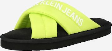 Pantoufle Calvin Klein Jeans en vert