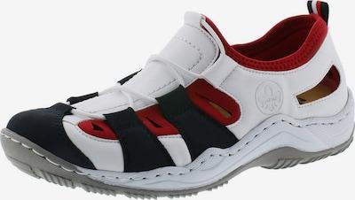 RIEKER Slip on -tennarit värissä laivastonsininen / punainen / valkoinen, Tuotenäkymä