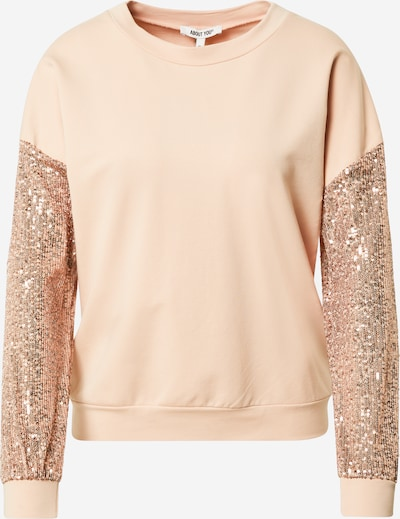 ABOUT YOU Sweat-shirt 'Paola' en nude, Vue avec produit