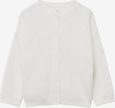 MANGO KIDS Strickjacke 'MOCCA' in weiß, Produktansicht