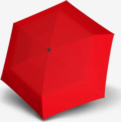 Doppler Regenschirm in rot, Produktansicht