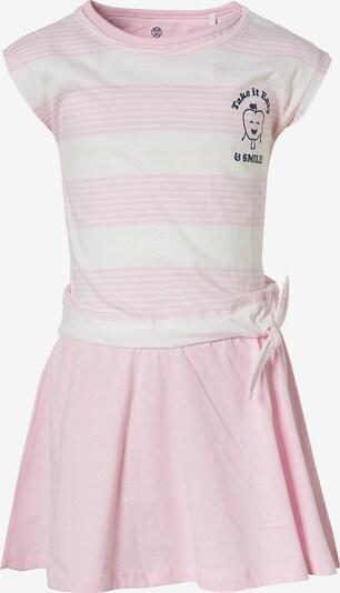 LEMON BERET Kleid in altrosa / weiß, Produktansicht