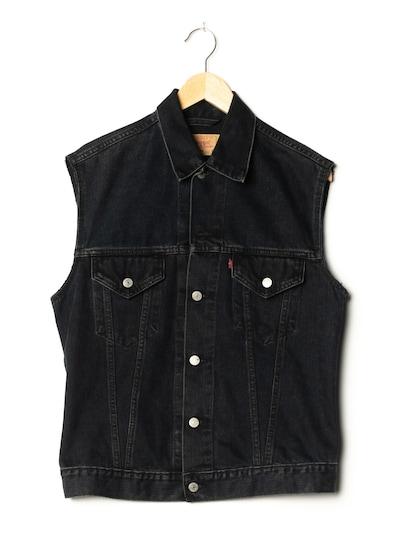 LEVI STRAUSS & CO. Jeansweste in L in black denim, Produktansicht