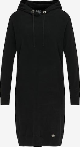 Robes en maille DreiMaster Maritim en noir
