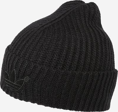 Megzta kepurė iš ADIDAS ORIGINALS, spalva – juoda, Prekių apžvalga