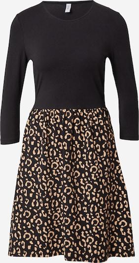ONLY Kleid 'AMBER' in braun / schwarz, Produktansicht