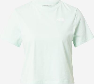 THE NORTH FACE T-shirt fonctionnel en menthe, Vue avec produit