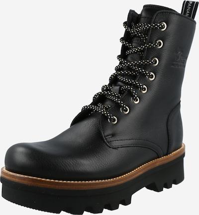 Suvarstomieji kulkšnis dengiantys batai 'Miren' iš PANAMA JACK, spalva – juoda, Prekių apžvalga