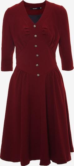 Madam-T Kleid 'Daisy' in rot, Produktansicht