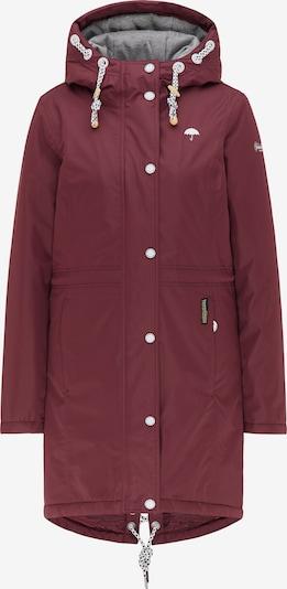 Schmuddelwedda Winterjacke in rubinrot, Produktansicht