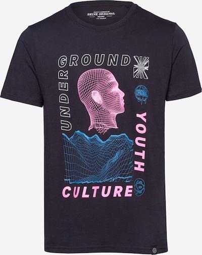 SHINE ORIGINAL Shirt in navy / hellblau / pink / weiß, Produktansicht