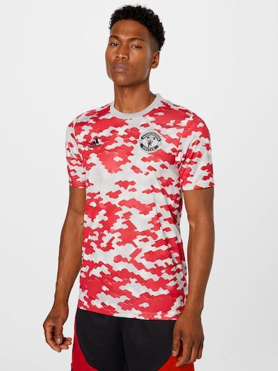 ADIDAS PERFORMANCE Трико 'MUFC PRESHI' в телесен цвят / огнено червено / черно: Изглед отпред