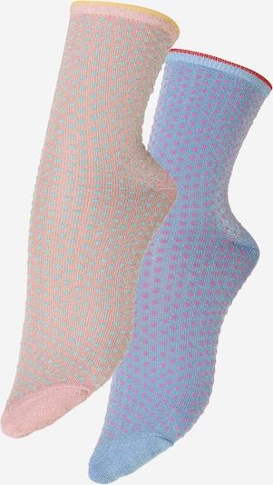 Calzino BeckSöndergaard di colore blu / rosa, Visualizzazione prodotti