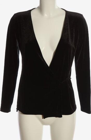 Paris Atelier Wickel-Bluse in S in schwarz, Produktansicht