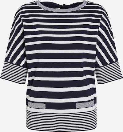 OUI Pullover in navy / weiß, Produktansicht